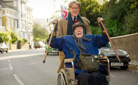 THE LADY IN THE VAN Dame Maggie Smith plays Miss Shepherd and Alex Jennings plays Alan Bennett in The Lady In The Van