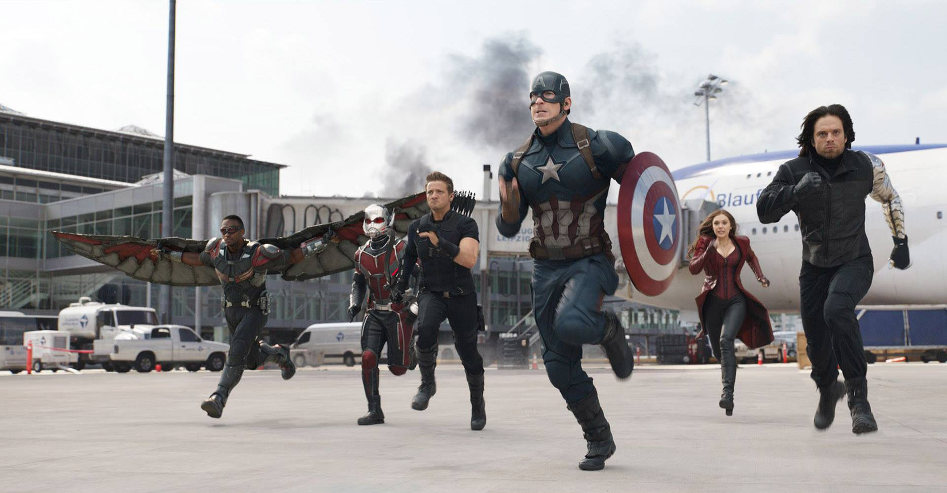 Immagine tratta da Captain America: Civil War