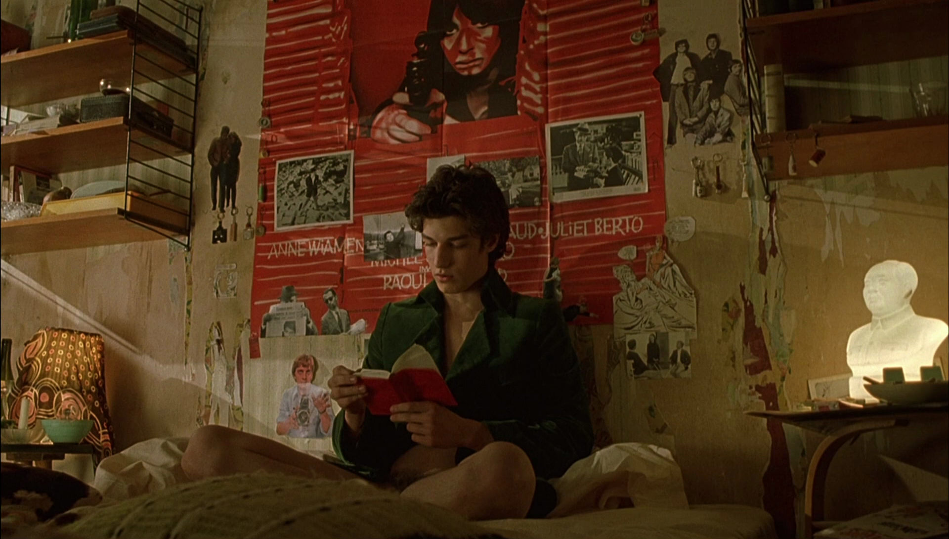 Louis Garrel in The Dreamers