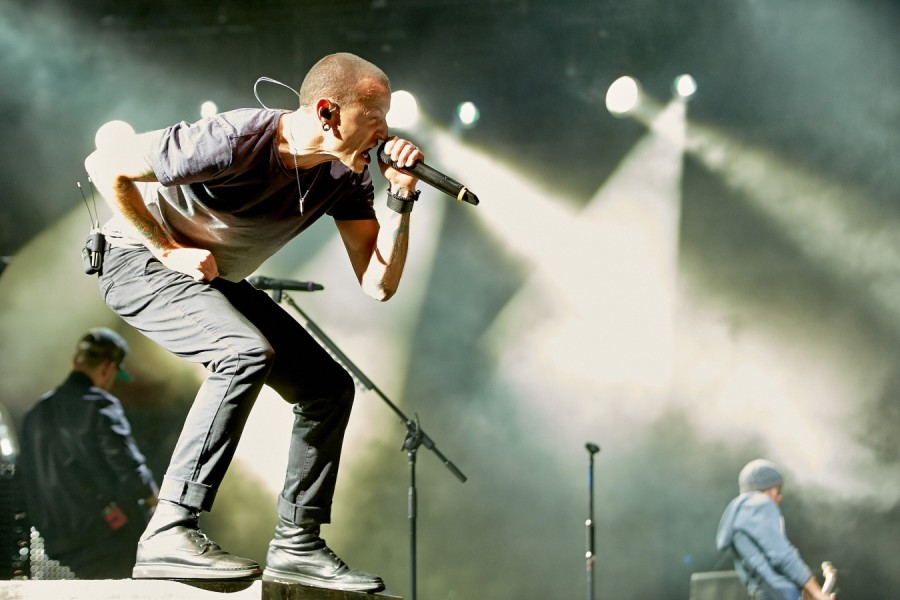 I Linkin Park in concerto (via: ANSA)