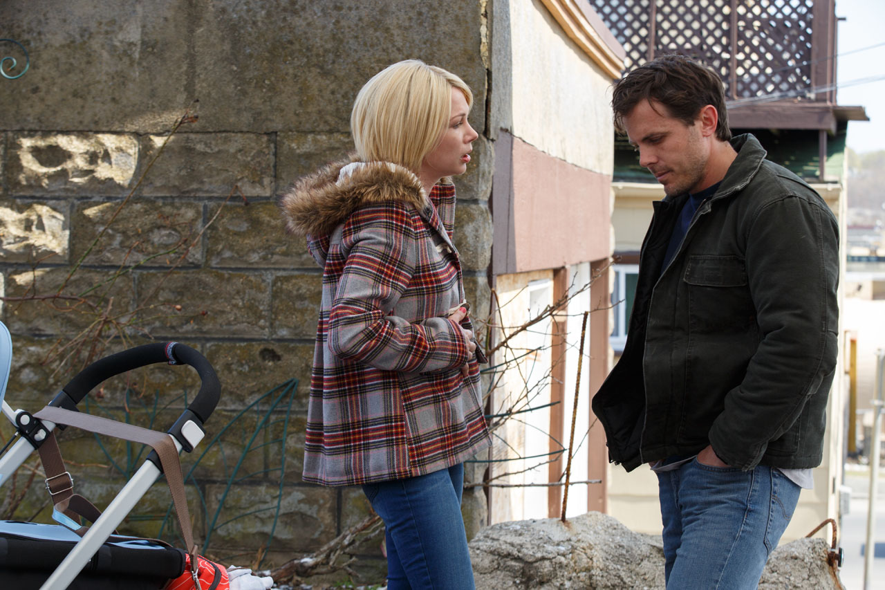 Michelle Williams e Casey Affleck in Manchester by the sea