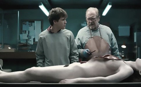 Un frame da Autopsy –The autopsy of Jane Doe