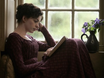 Anne Hathaway in Becoming Jane (Julian Jarrold, 2007)