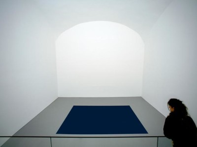 Dark brother (2005), opera dell'artista Anish Kapoor esposta al Madre, Napoli