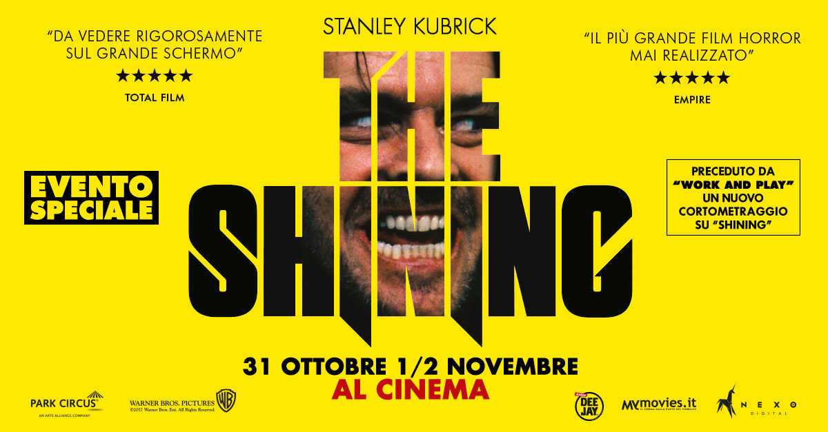 Il film Shining (Stanley Kubrick, 1980) torna in versione ...        </div>         <div class=