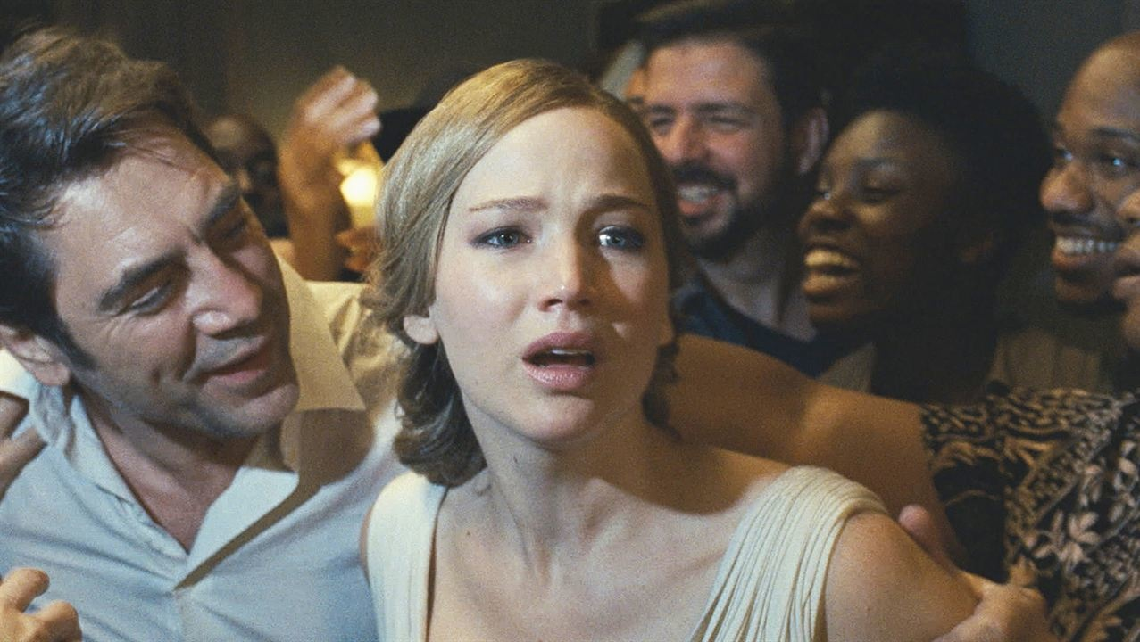 Jennifer Lawrence e Javier Bardem in Madre!, di Darre...        </div>         <div class=
