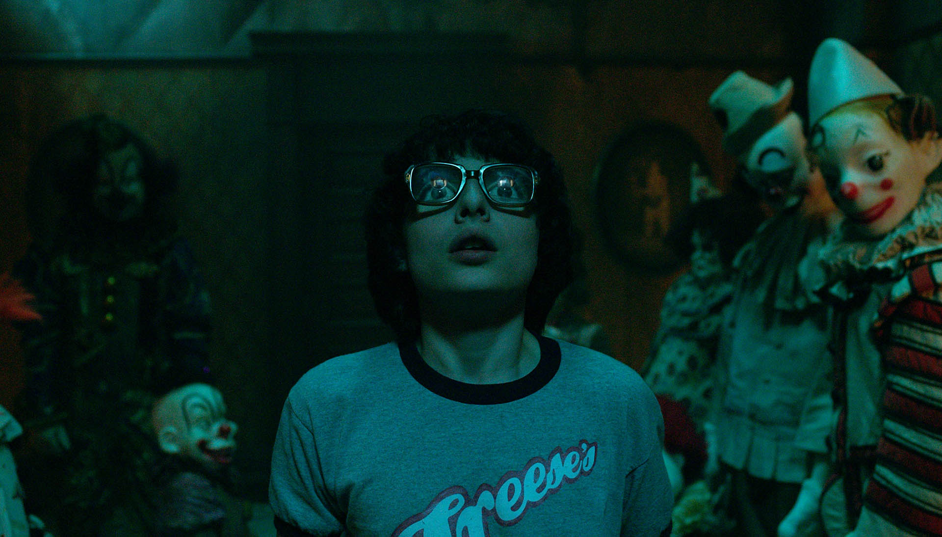 Finn Wolfhard (Richie) in It, di Andrés Muschietti