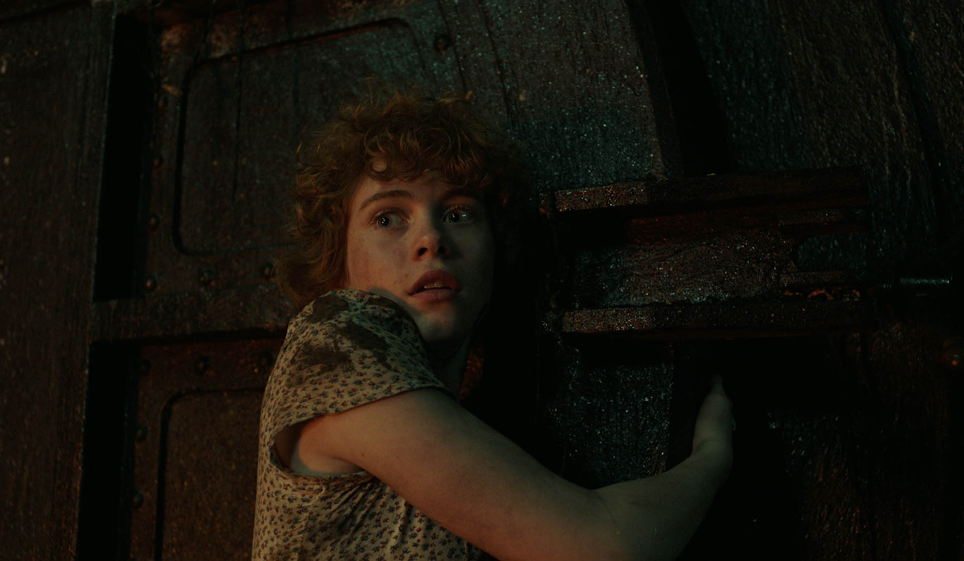 Sophia Lillis (Beverly) in It, di Andrés Muschietti