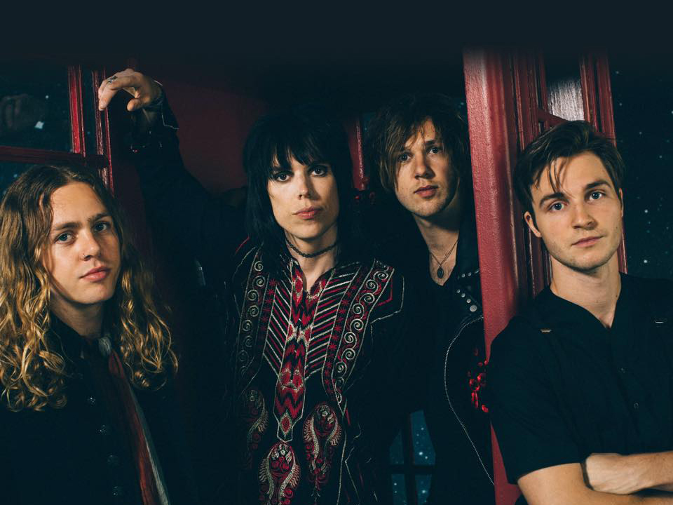 In foto, la band inglese The Struts