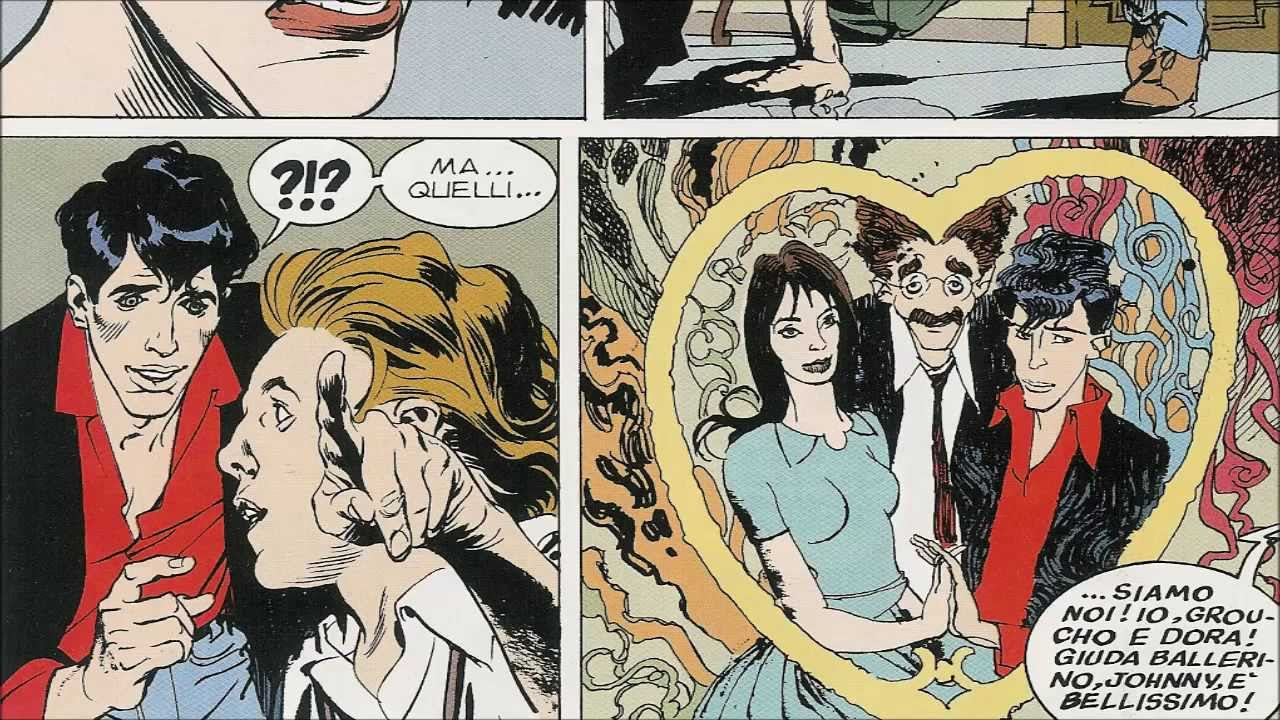 Dylan Dog e Groucho in Johnny Freak (#81)