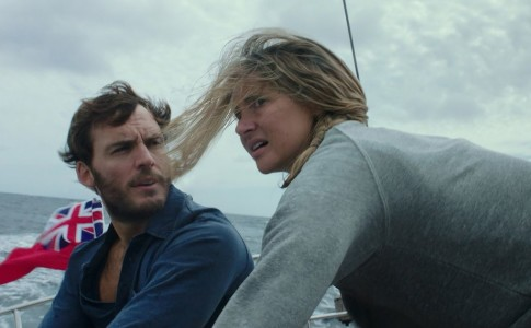 In foto, Richard Sharp e Tami Oldham in Adrift