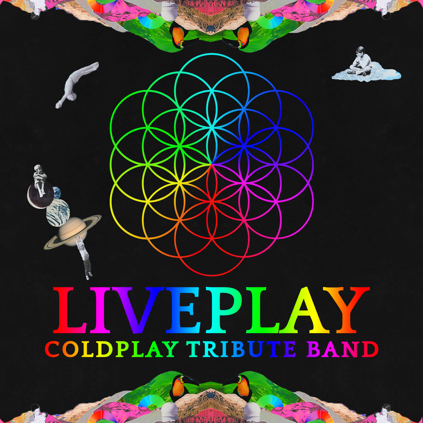 I Liveplay, tribute band italiana dei famosissimi Coldplay, sono Enrico Coin, Filippo Coin, Angelo Barbierato e Daniele Marcon