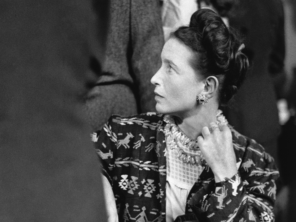 In foto, la filosofa, saggista e femminista francese Simone de Beauvoir