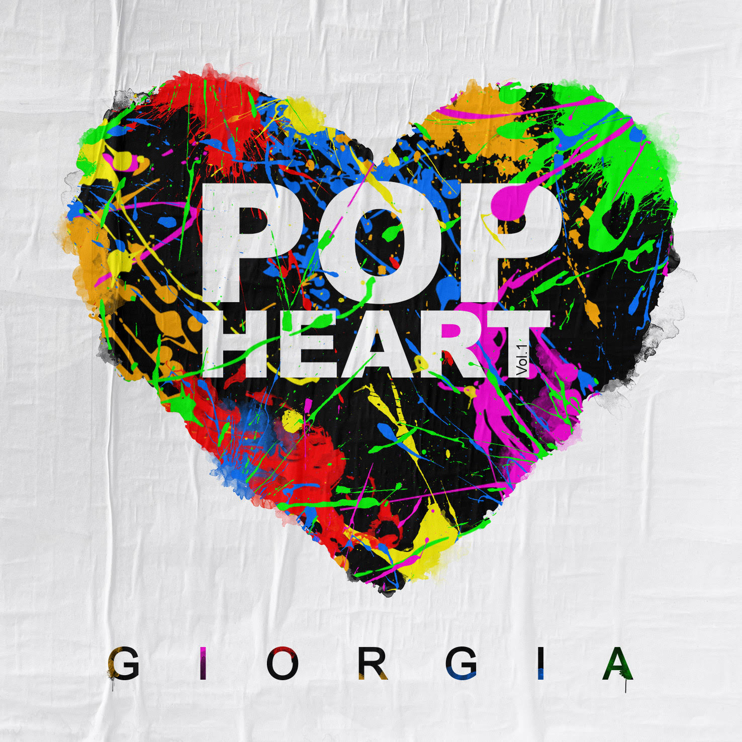 La cover dell'album Pop Heart, di Giorgia