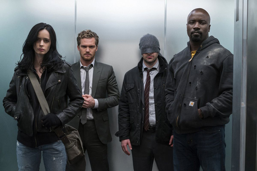 I protagonisti di Daredevil, Jessica Jones, Luke Cage e Iron Fist si incontrano nella serie crossover The Defenders