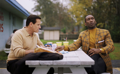 Viggo Mortensen e Mahershala Ali nel film Green Book