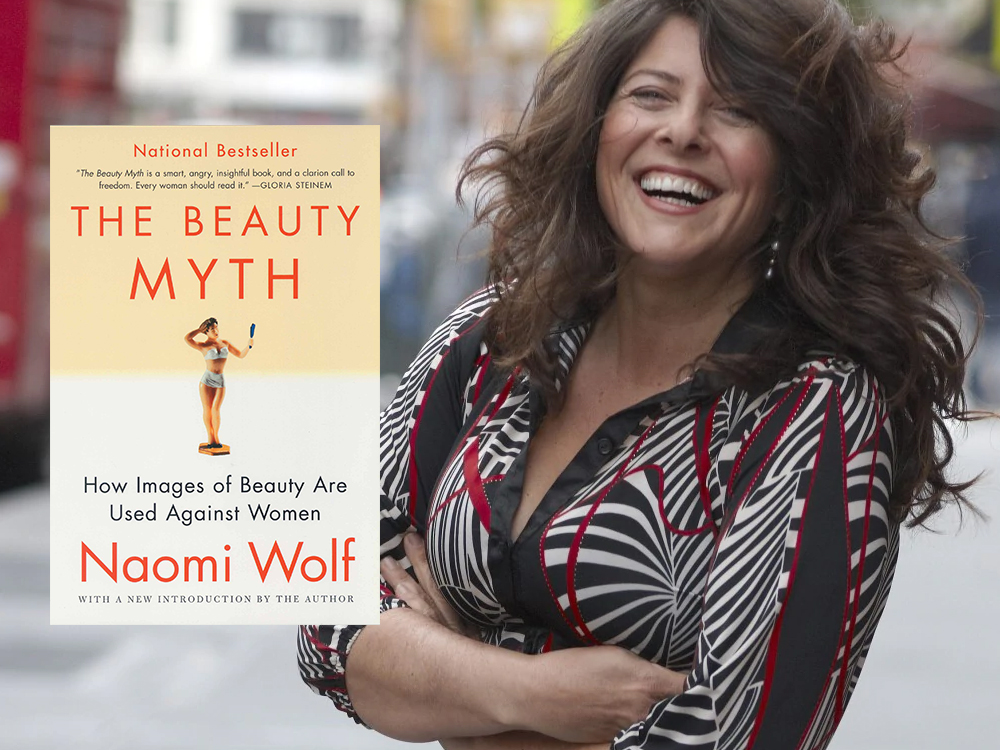 Naomi Wolf è l'autrice di The beauty myth