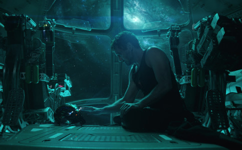 Robert Downey Jr. nei panni di Tony Stark/Iron Man nel film Avengers: Endgame © Marvel Studios 2019