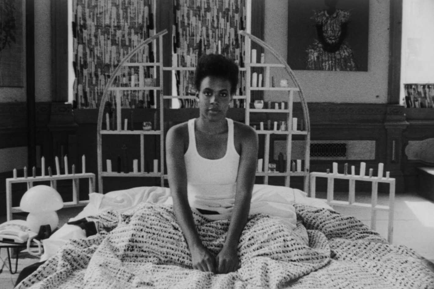 Tracy Camilla Johns nei panni di Nola Darling nel cortometraggio Lola Darling (Spike Lee, 1986)