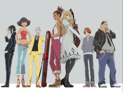 Immagine tratta dall'anime Carole & Tuesday, di Motonobu Hori, disponibile su Netflix
