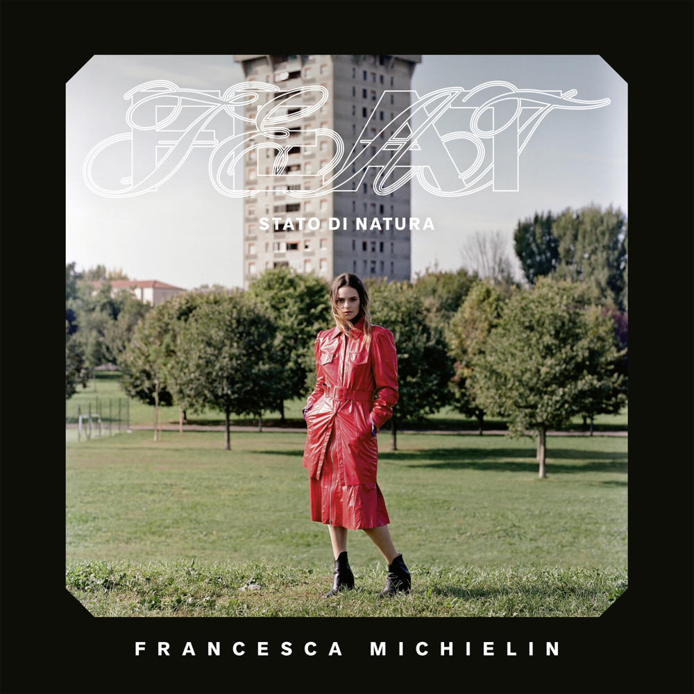 La cover dell'album Feat, di Francesca Michielin