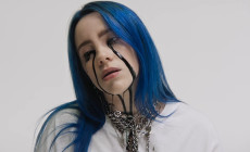 In foto, la giovane cantante Billie Eilish nel video del brano When the Party's Over